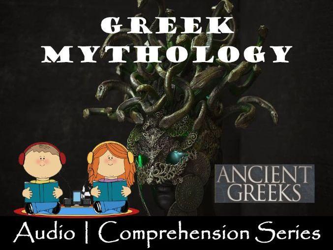 Ancient Greek Mythology | Distance Learning | Audio & Comprehension Worksheets