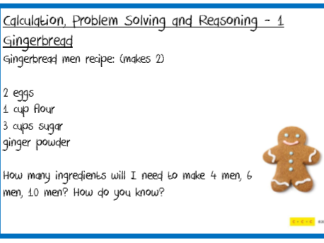 Problem Solving Challenges F2 to Y6