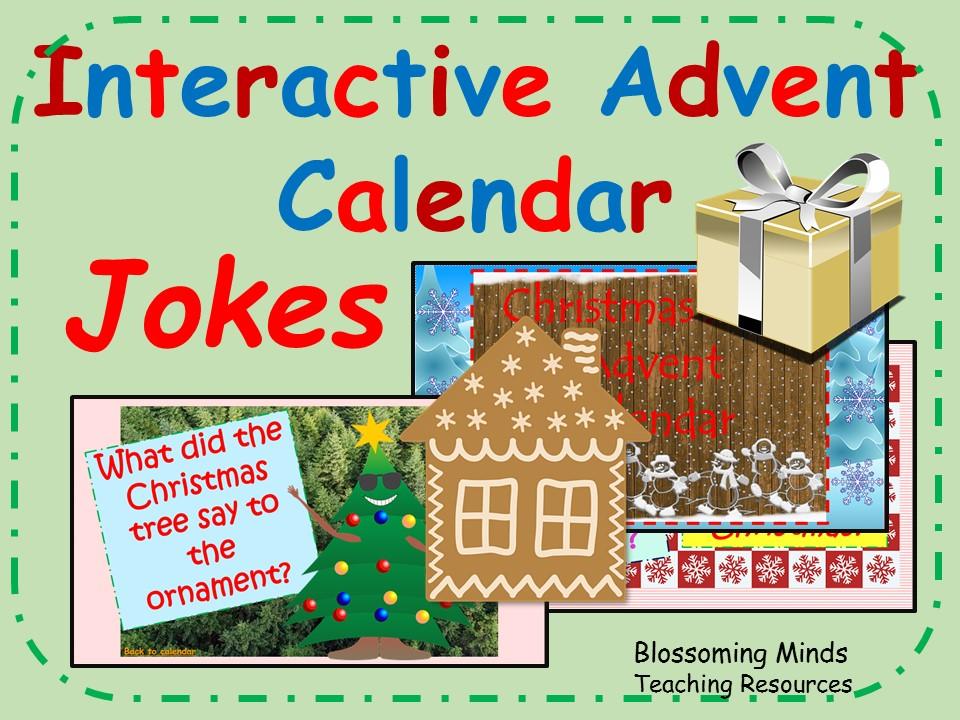 Christmas Jokes Advent Calendar - Interactive
