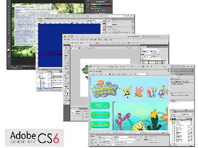 Adobe CS6 package