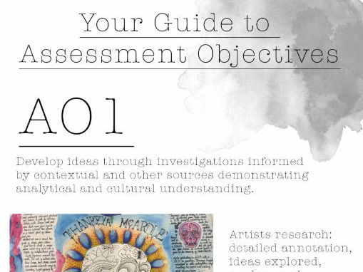 AO Assessment Objective Booklet Art & Photography