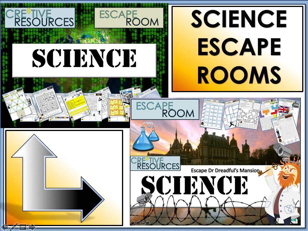 Science Back To School Escape Rooms