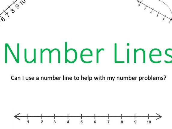 Number line Presentation Year 1