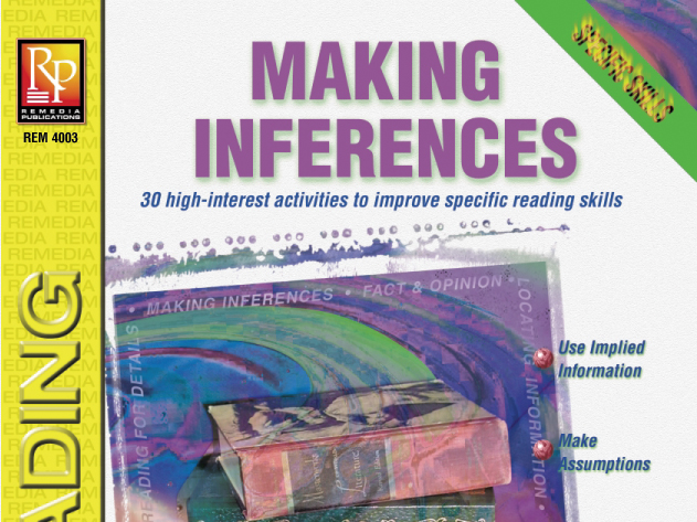 Making Inferences: Specific Skills Series