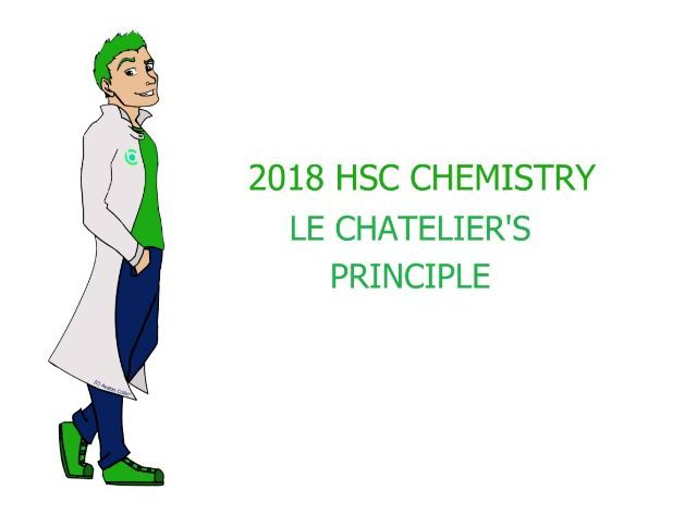 Le Chatelier's Principle in pictures