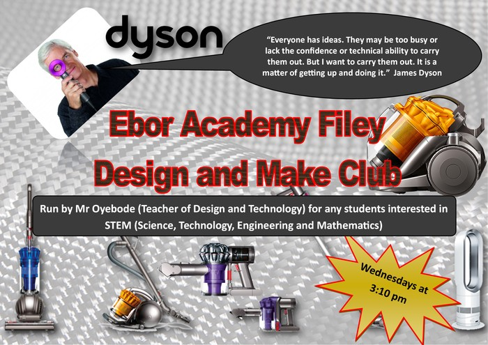 Design and Technology Club Posters