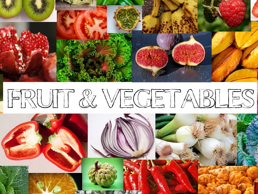 Fruit and Vegetables Photo Bank