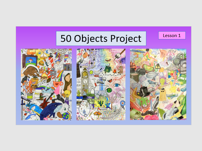 KS3 Art projects perfect for distance learning