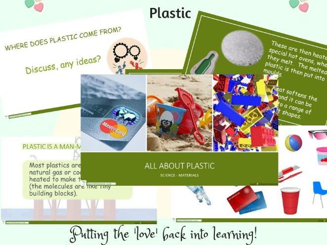 Materials and their Properties Science Plastic