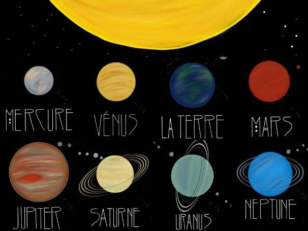 Notre Système Solaire Powerpoint - Our Solar System