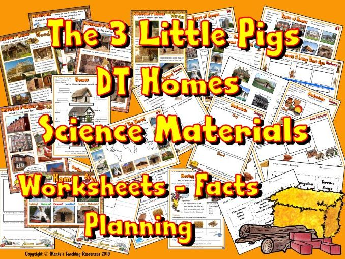 DT / Homes / The 3 Little Pigs
