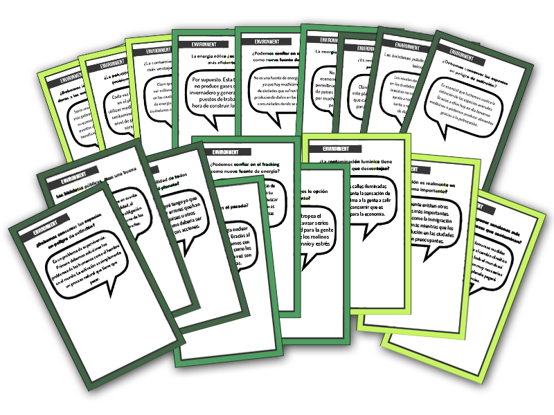 A2 Speaking cards - ENVIRONMENT.pdf
