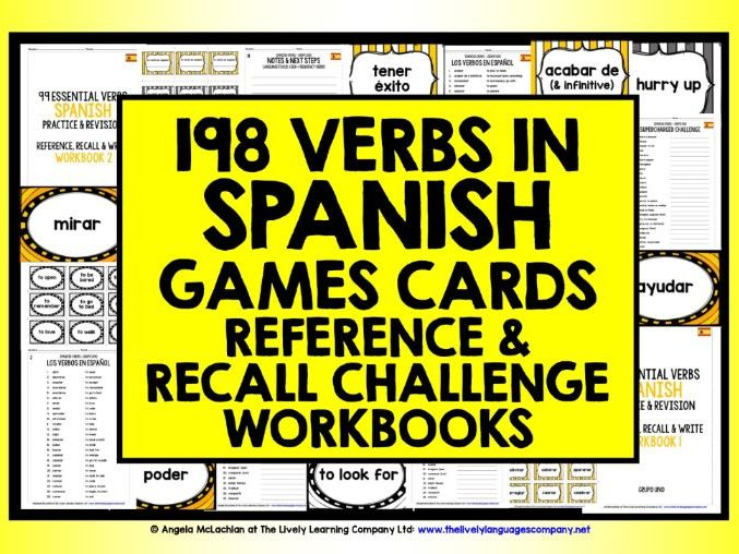 SPANISH VERBS REVISION & PRACTICE
