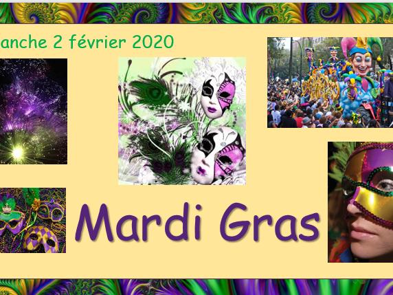 Mardi Gras (Fat Tuesday)