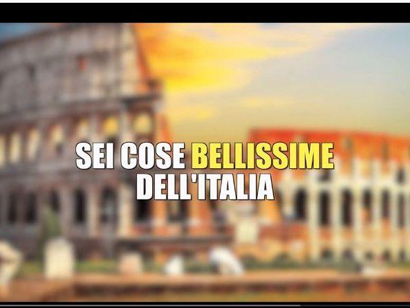 Video Listening - 6 cose belle dell'Italia