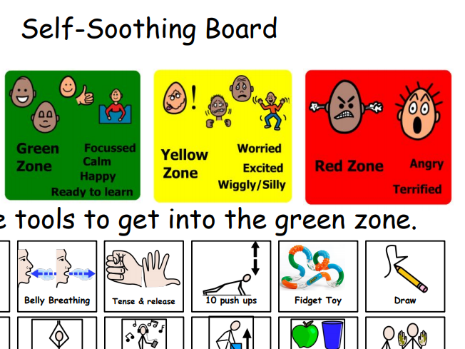 Self Soothing Board