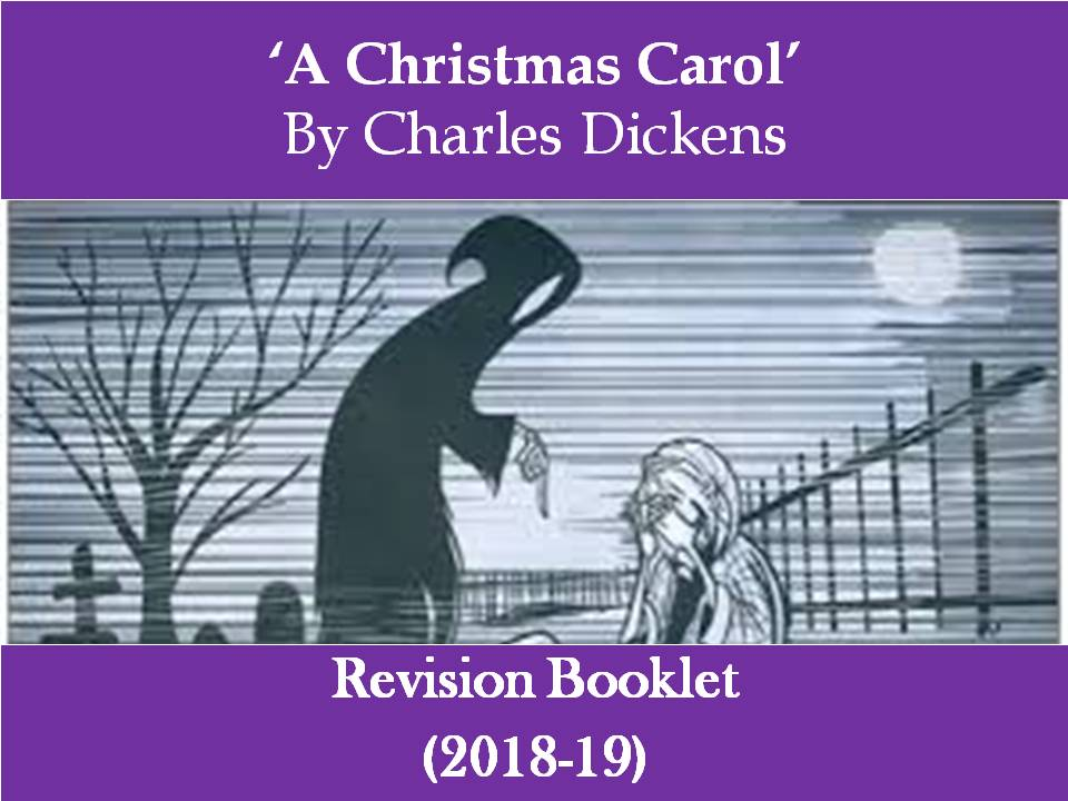 NEW - 'A Christmas Carol' Revision Booklet