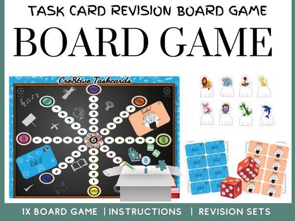 Task Card Board Game Pack