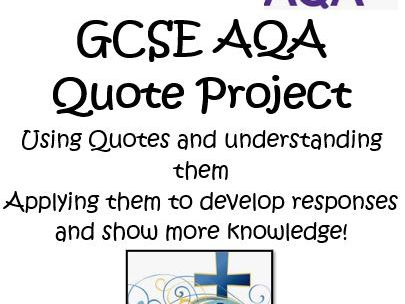 AQA 9-1 GCSE CHRISTIANITY QUOTE ACTIVITY BOOKLET HOME LEARNING