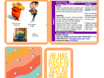 Y3 Home Learning Pack - Humorous Poems