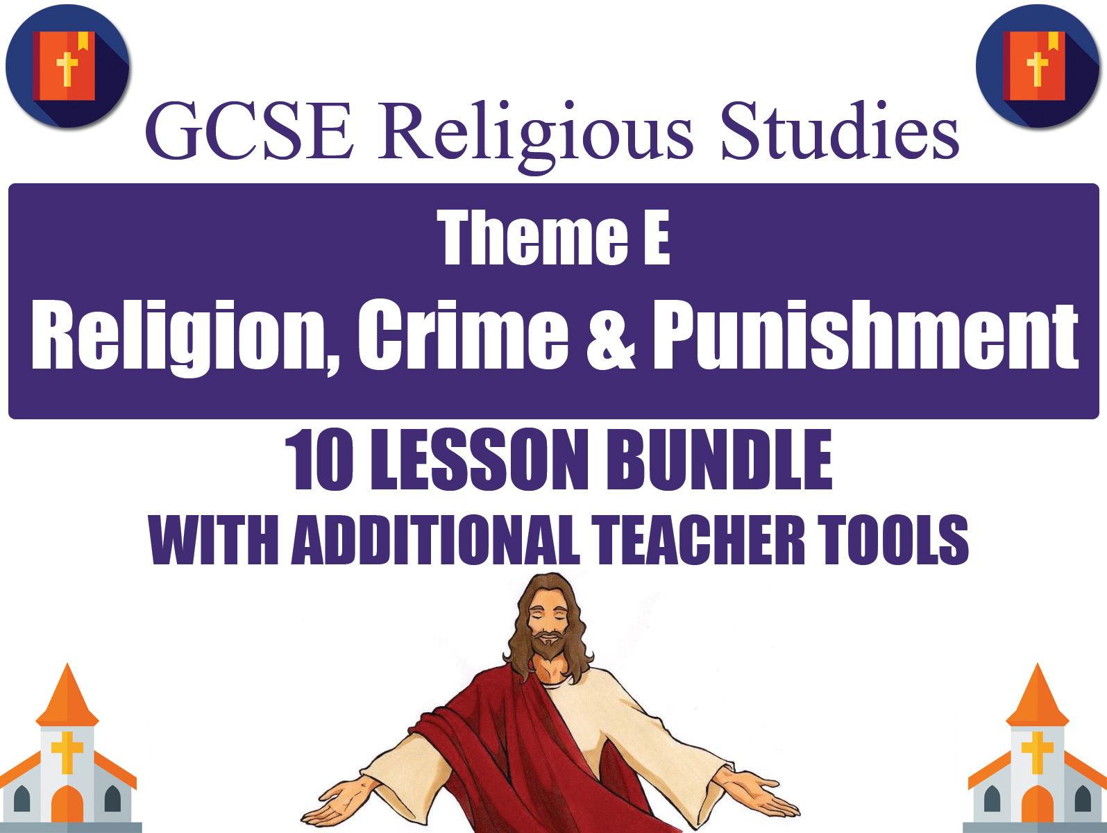Religion, Crime & Punishment (10 Lesson Unit) (AQA GCSE Religious Studies)