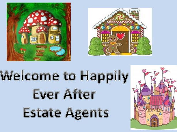 Fairytale Estate Agents - Literacy Bundle KS1