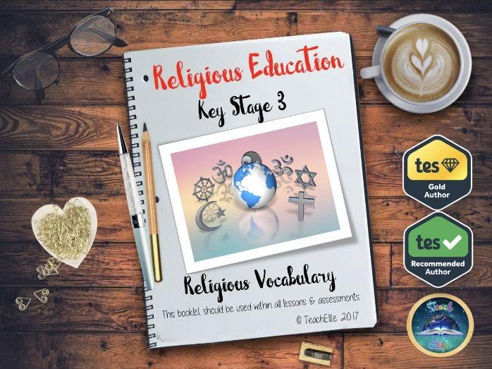 KS3 Religious Studies Vocabulary Booklet