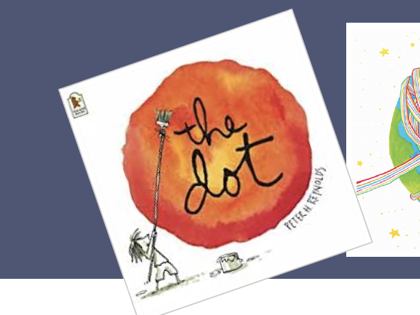 Creative Home Learning: The Dot by Peter H. Reynolds