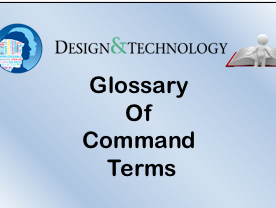 DT IB - Glossary or Command Terms