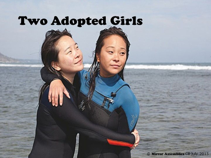 New Beginnings For Two Adopted Girls