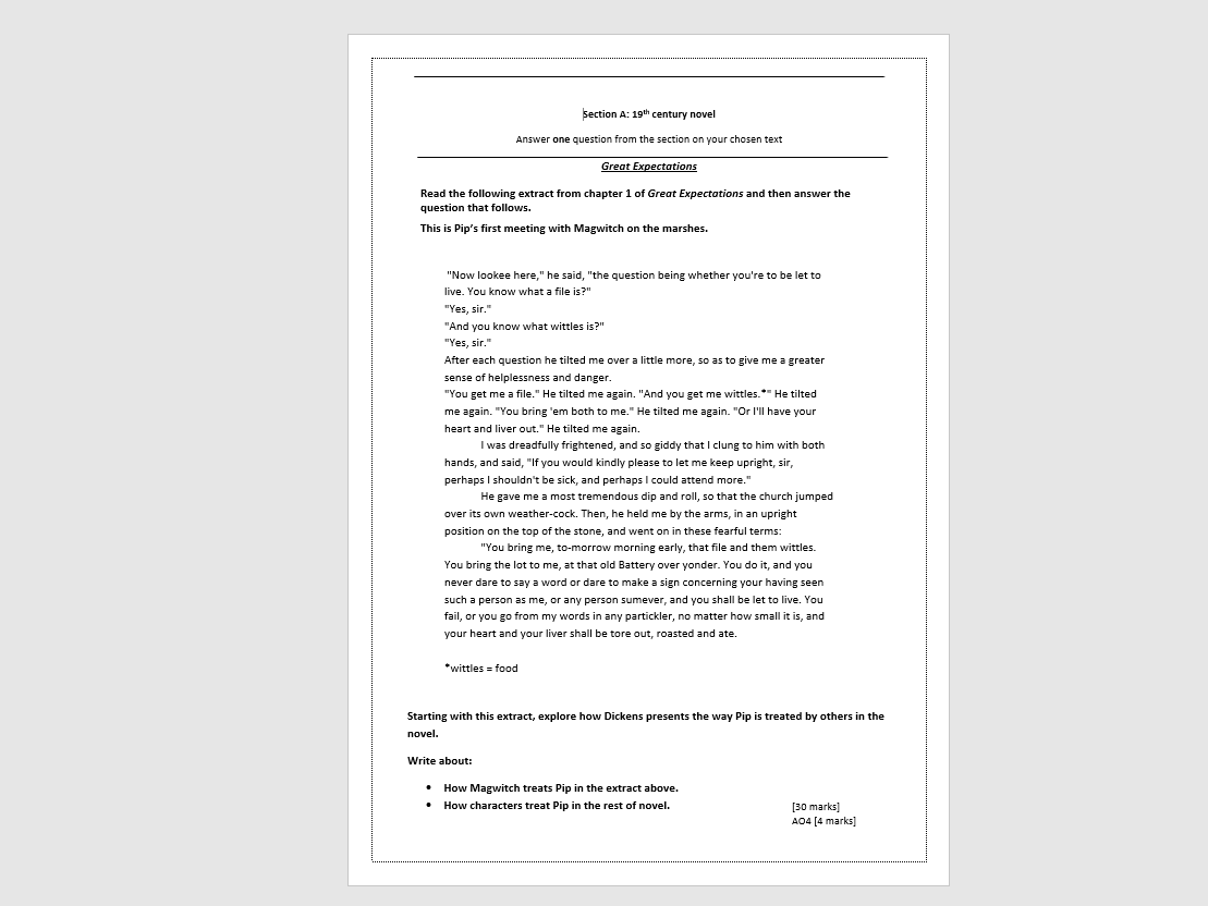 mock gcse english papers online This mock is for paper 1: explorations in creative reading and writing and covers chapter 1 to scott westerfield's dystopian novel 'uglies' the story revolves around teenagers at the age of 16 being forced under the knife to undergo plastic surgery with.