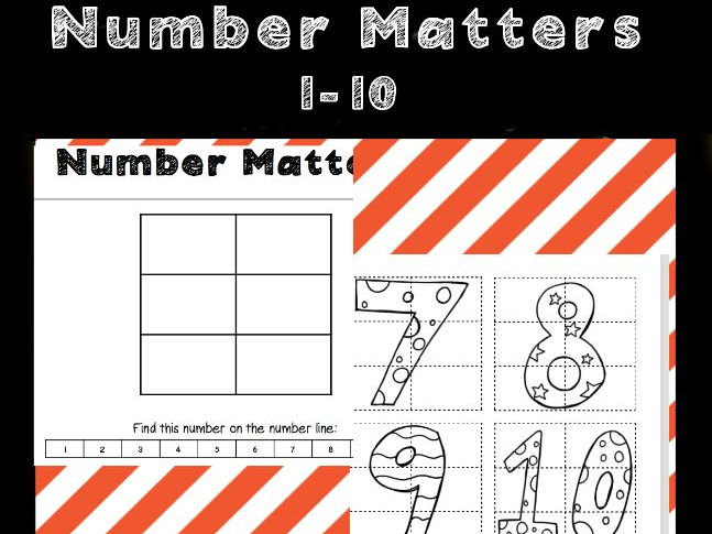 Number Matters - Early Years/SEN maths activity