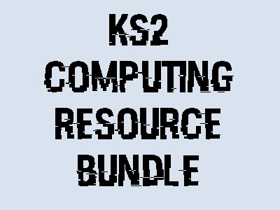 KS2 - Computing Starter Pack!