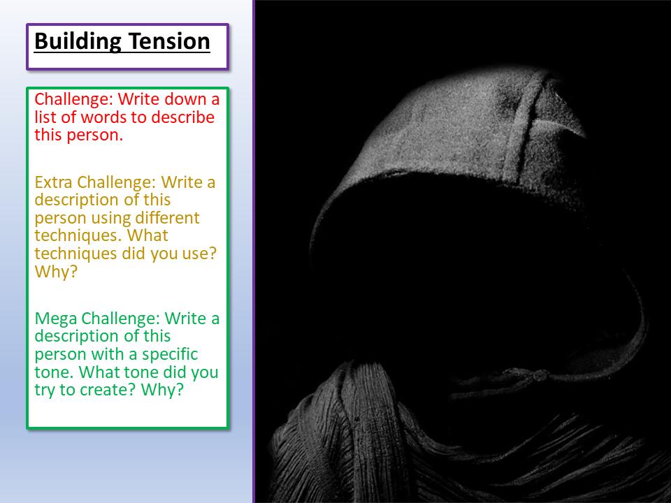 AQA Language Paper 1 Creating Tension