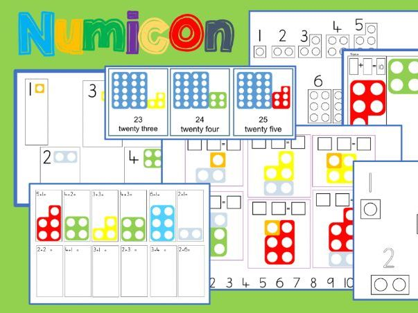 Numicon Supporting Resources