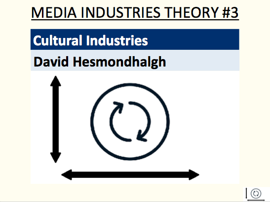 Cultural Industries - David Hesmondhalgh (media industries theory #3)