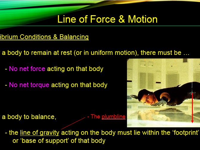 IGCSE Physics - Line of Force and Motion