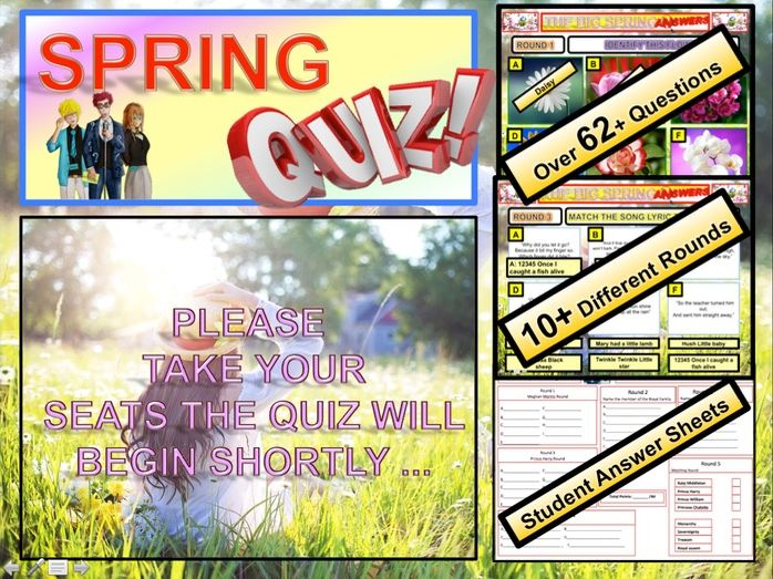 Spring Quiz 2019 End of Term