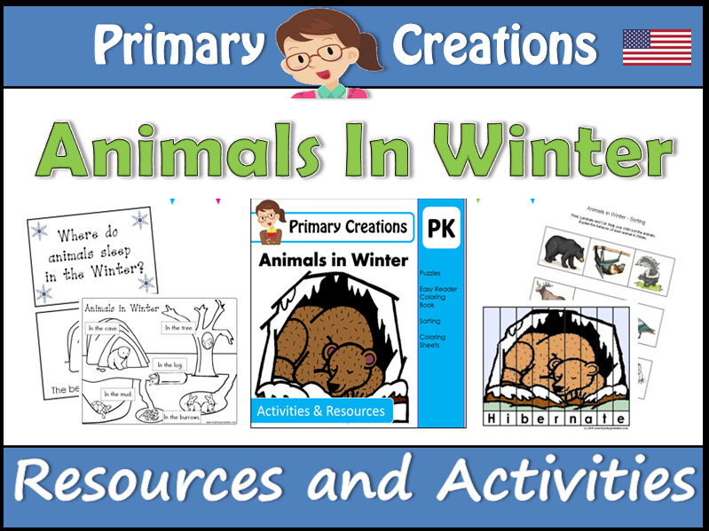 Animals in Winter (USA Edition)