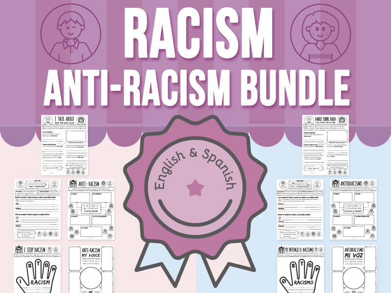 Racism - (Skin Color) - Anti-Racism BUNDLE
