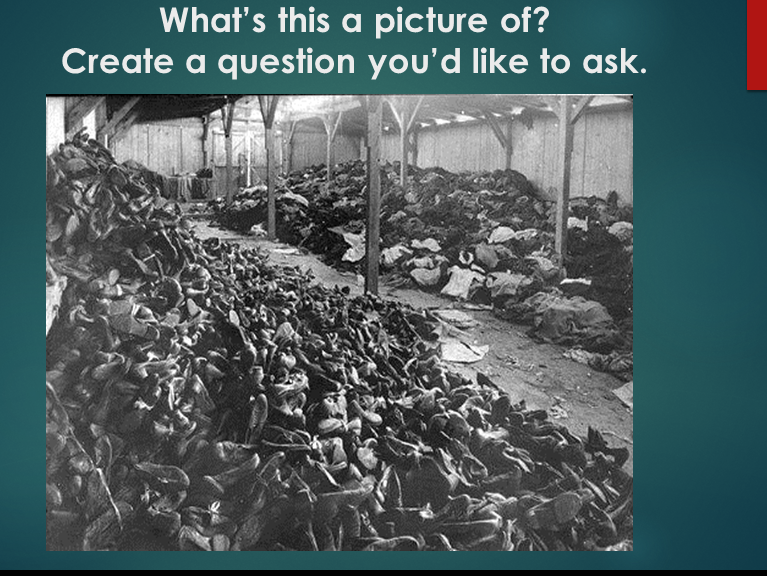 An Introduction to the Holocaust: A Hill of Shoes