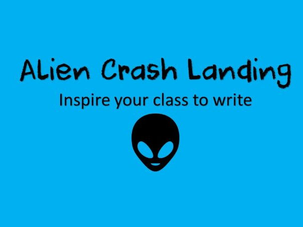 Alien Crash Landing English planning for KS1 Space Topic