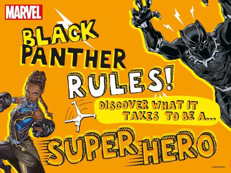 Marvel Black Panther Rules! digital pack