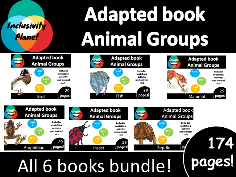 Adapted books Animal Group Bundle
