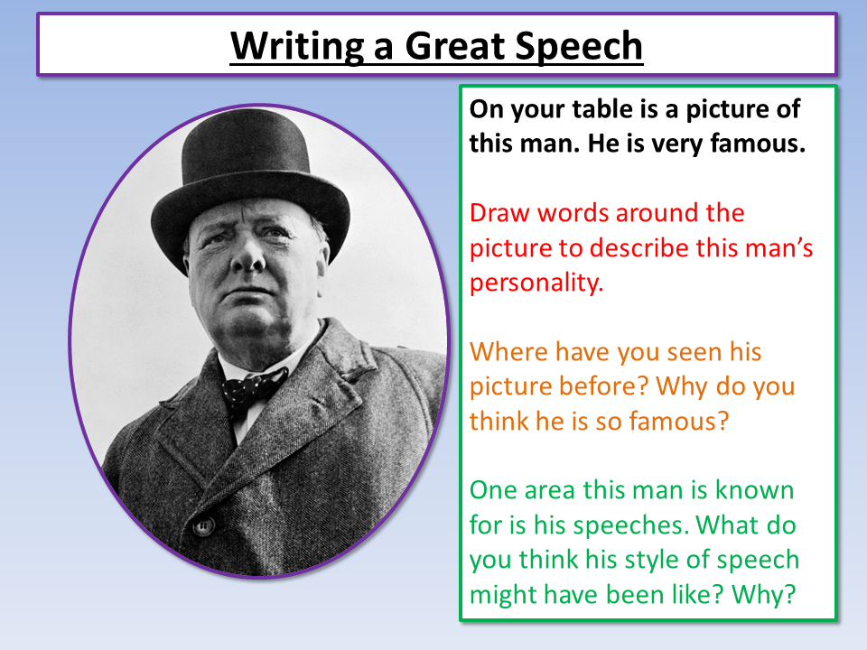 Edexcel Speech Writing