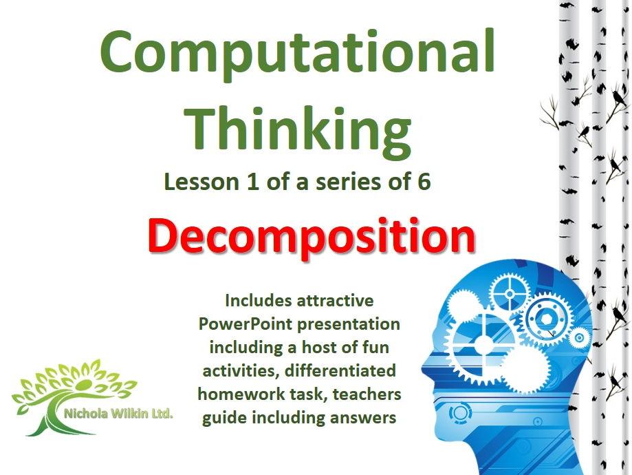 Decomposition (Computational Thinking Lesson)