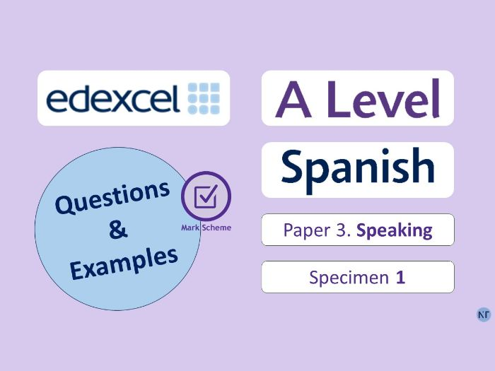 A-Level P3-Speaking Cards + Research Project