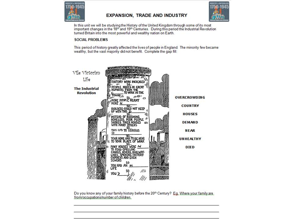 Expansion, Trade and Industry Overview