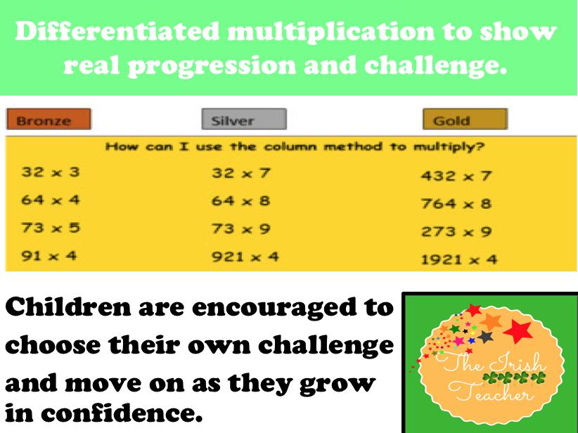 Short Multiplication- Year 4