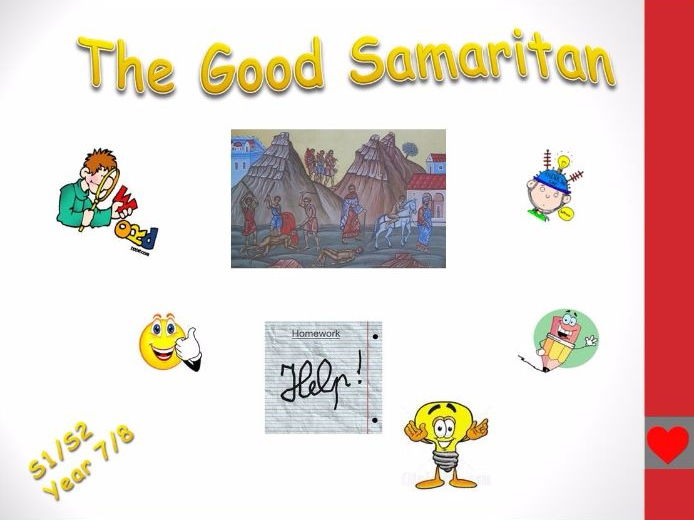 The Good Samaritan homework